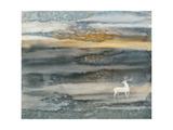 Ciervos y alces Lámina giclée por Yunlan He