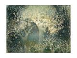 Beautiful Winter Giclee Print by Yunlan He