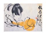 Gourd Giclee-trykk av Baishi Qi