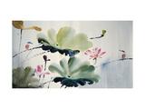 Parejas Lámina giclée por Chi Wen