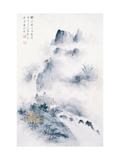 Living beside the Waterfall Lámina giclée por Yongsun Huang