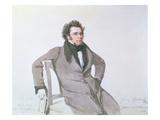 Franz Schubert (1797-1828), 1825 (W/C on Paper) Giclee Print by Wilhelm August Rieder