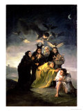 The Witches' Sabbath Giclee Print by Francisco de Goya