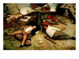 Land of Cockaigne, 1567 Giclee-trykk av Pieter Bruegel the Elder