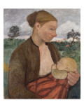 Mother and Child, 1903 Gicléetryck av Paula Modersohn-Becker