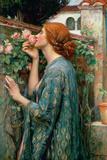 The Soul of the Rose, 1908 ジクレープリント : ジョン・ウイリアム・ウォーターハウス