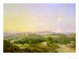 View of Bethlehem, 1857 Giclee Print by Nikanor Grigor'evich Chernetsov