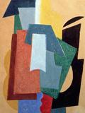 Summer, 1917-18 Giclée-tryk af Liubov Sergeevna Popova