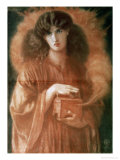 Pandora, 1869 Giclee-trykk av Dante Gabriel Rossetti