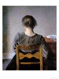 Rest Giclee Print by Vilhelm Hammershoi