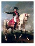 Equestrian Portrait of Napoleon I (1769-1821) 1810 Reproduction procédé giclée par Joseph Chabord