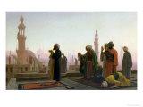 The Prayer, 1865 Giclée-tryk af Jean Leon Gerome