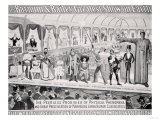 Poster Advertising, The Barnum and Bailey Greatest Show on Earth Giclée-Druck