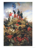 The Taking of Malakoff, 1858 Giclee Print by Horace Vernet