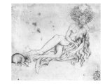 Allegory of the Lust Giclée-tryk af Antonio Pisani Pisanello