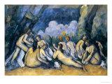 The Large Bathers, circa 1900-05 Giclée-vedos tekijänä Paul Cézanne
