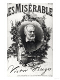 """Titlepage of the First Edition of """"Les Miserables"""" by Victor Hugo (1802-85) Giclee Print"""