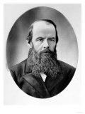Portrait of Fyodor Mikhailovich Dostoyevsky (1821-81) Reproduction procédé giclée