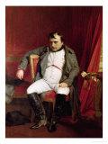 Napoleon (1769-1821) after His Abdication Reproduction procédé giclée par Hippolyte Delaroche