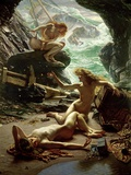 The Cave of the Storm Nymphs, 1903 Gicléedruk van Edward John Poynter