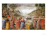 The Calling of Ss. Peter and Andrew, 1481 Giclée-tryk af Domenico Ghirlandaio