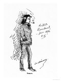 Arthur Rimbaud (1854-91) June 1872 Giclée-Druck von Paul Verlaine