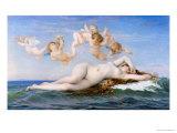 Birth of Venus, 1863 Giclée-tryk af Alexandre Cabanel