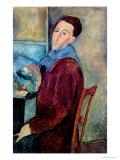 Self Portrait, 1919 Gicléetryck av Amedeo Modigliani