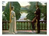 Nordic Summer Evening, 1899-1900 Giclée-tryk af Sven Richard Bergh