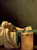 The Death of Marat, 1793 Giclée-tryk af Jacques-Louis David