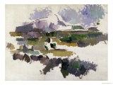 Montagne Sainte-Victoire, 1904-05 Reproduction procédé giclée par Paul Cézanne