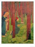 The Incantation, or the Holy Wood, 1891 Gicléetryck av Paul Serusier