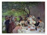 The Wedding Meal at Yport, 1886 Giclée-vedos tekijänä Albert-Auguste Fourie