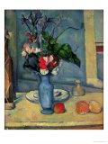 The Blue Vase, 1889-90 Reproduction procédé giclée par Paul Cézanne