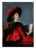 La Baronne De Crussol, 1785 Giclée-Druck von Elisabeth Louise Vigee-LeBrun
