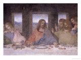 The Last Supper, 1495-97 (Post Restoration) Giclee-trykk av  Leonardo da Vinci