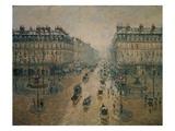 Avenue De L'Opera, Paris, 1898 Reproduction procédé giclée par Camille Pissarro