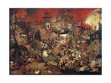Dulle Griet (Mad Meg) 1564 Giclee-trykk av Pieter Bruegel the Elder