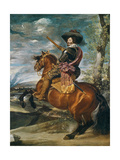 Equestrian Portrait of Don Gaspar De Guzman (1587-1645) Count-Duke of Olivares, 1634 Giclée-tryk af Diego Velazquez