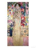 Portrait of Maria Munk (Unfinished 1917-18) Giclée-Druck von Gustav Klimt