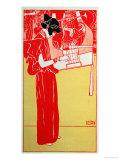 Musik Impressão giclée por Gustav Klimt