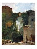 The Falls of Tivoli Giclee Print by Jean-Honoré Fragonard