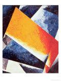 Architectonic Composition Giclée-tryk af Liubov Sergeevna Popova