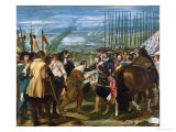 The Surrender of Breda, 1625, circa 1635 Giclée-vedos tekijänä Diego Velazquez