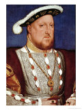 Roi Henry VIII Reproduction procédé giclée par Hans Holbein the Younger