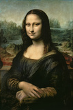 Mona Lisa, c.1507 ジクレープリント : レオナルド・ダ・ヴィンチ