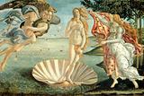De geboorte van Venus, ca.1485 Gicléedruk van Sandro Botticelli