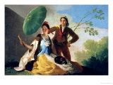 The Parasol, 1777 Giclee Print by Francisco de Goya