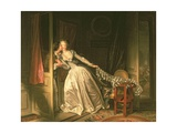 The Stolen Kiss, C.1788 Giclee Print by Jean-Philippe Rameau