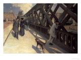 Le Pont De L'Europe, 1876 Giclée-vedos tekijänä Gustave Caillebotte